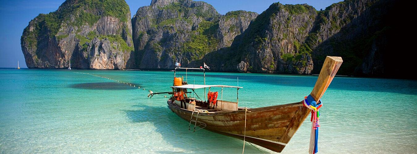 Thailand treehouse holidays - beach and boat