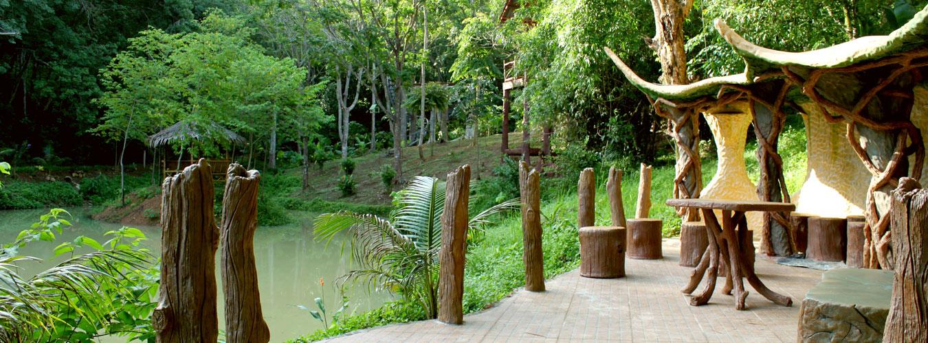 Thailand treehouse holidays - lakeside